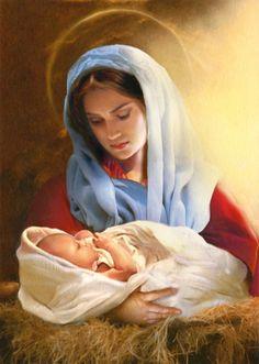 Simon Mendez - Mary and baby Jesus NAW am