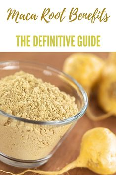 Maca Root Benefits: The Definitive User Guide - Happy Body Formula Holistic Nutrition, Nutrition Guide, Nutrition Information, Health And Nutrition, Health Diet, Tasty Vegetarian Recipes, Real Food Recipes, Healthy Life, Healthy Living