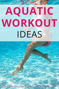 Water Aerobics Routine, Water Aerobics Workout, Water Aerobic Exercises, Swimming Pool Exercises, Pool Workout, Water Workouts, Exercise Workouts, Fitness Exercises, Fitness Tips