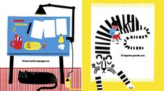 With time | Planeta Tangerina, illustrations by Madalena Matoso