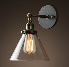 another wall light option