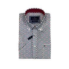 Short sleeve casual shirt, regular fit, button down - cool pattern Button Down Collar, Button Downs, Button Down Shirt, Cool Patterns, Skinny Fit, Casual Shirts, Size Chart, Long Sleeve Shirts, Buttons