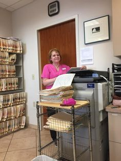 Kellie is our Assistant Front Desk Manager. She does an amazing job of updating our Pinterest page. She also spearheaded scanning thousands of paper records into our EMR (Electronic Medical Record) system. Thanks Kellie!