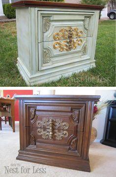 Vintage Art Deco piece of furniture - repainted