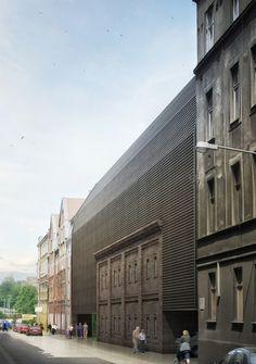 ESCUELA DE CINE EN KATOWICE_BAAS Y GRUPA5 | AIB Architecture_Obras