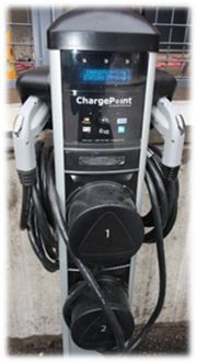 First electric car charging station in downtown St. Louis at The Laurel