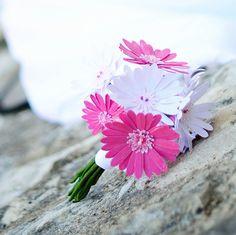 Bouquet de Gerbera en papier -  ©deelina
