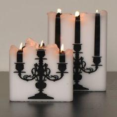Si te gusta la unión de las #velas con un #candelabro te gustará este pin. #velas