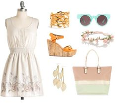 Looks from Books: An Amsterdam Style Picnic - Fashion inspired by John Green's novel The Fault In Our Stars
