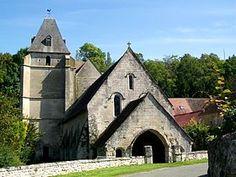 Eglise St Remy de Roberval. Picardie
