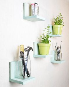 Simple Shelf  Wall Storage  Bookshelves  Floating by AnotherCup,