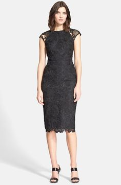 Ted+Baker+London+Lace+Sheath+Dress+available+at+#Nordstrom