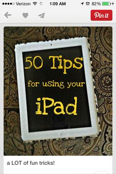 Now that I have the tips and tricks, just gotta got an iPad and then we are all set! Come on iPad We Are The World, Do It Yourself Home, In Kindergarten, Good To Know, Just In Case, Helpful Hints, The Help, At Least, Apple Watch