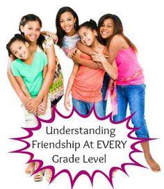 Understanding Friendship at Every Grade Level