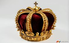 ROMANIA - CROWN OF QUEEN ELISABETA - 1881 | bucharest your cultural drive: Romania's Royal Symbols at theNational History Museum