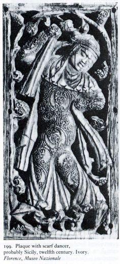 Fatimid ivory. Bargello Museum.