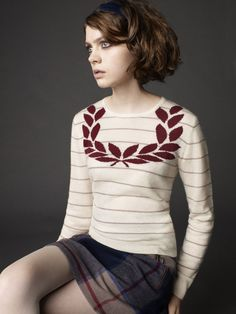 love that sweater (richard nicoll & fred perry laurel; fall/winter 2011)