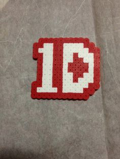 1 Direction Perler Bead Magnet, necklace, or sticker. 1D
