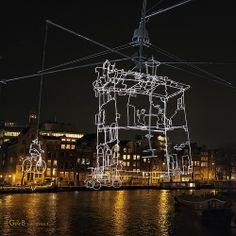 Drawn in light - #GdeBfotografeert #amsterdamlightfestival