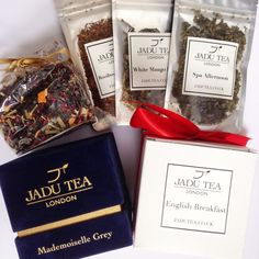 JADU Tea London | Blog Review I used to love a good cup of bog standard English tea with milk and a sugar. As I've grown older, more conscious of the effects of sugar and more concerned with health, I've come to appreciate the taste, flavours and benefits of green tea instead, as well as a wide range of herbal teas. My previous coffee and tea addiction has been replaced with at least two cups of green tea daily. I now approve of its distinct flavour and find a cupful warming, ...