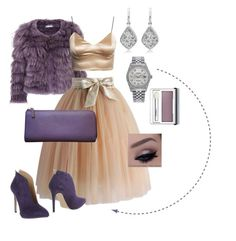 Party girl by nikica21 on Polyvore featuring polyvore, fashion, style, Chicwish, Le Stelle, Gucci, Rolex, Clinique, Alice + Olivia and clothing