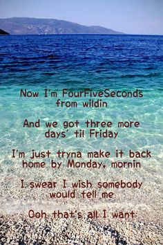 FourFiveSeconds - Rihanna, Kanye West My fav Jam! Song Quotes, Qoutes, Life Quotes, Me Too Lyrics, Music Lyrics, Kanye West Paul Mccartney, Rihanna Lyrics, Ray Charles, Sing To Me