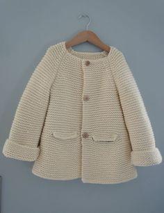 manteau blanc point mousse