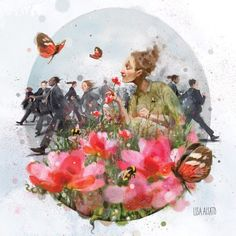 Find the Garden within You; Shape Art, Smile Face, Whimsical Art, Artsy Fartsy, Mother Nature, Brave, Book Art, Lisa, Presents