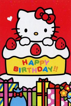 52 best hello kitty birthday images in 2017 happy birthday greetings hello kitty birthday - Hello kitty birthday images ...