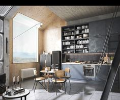 Lofts are known for their tall ceilings, wide open spaces, and industrial details. But loft designs vary from the ultra modern to the eclectic, and the people w