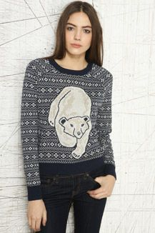 Cooperative Polar Bear Pullover Sweater