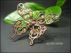 images about Wire Wrapped Butterflies, Dragonflies  Other