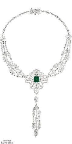 Diamond & Emerald Necklace