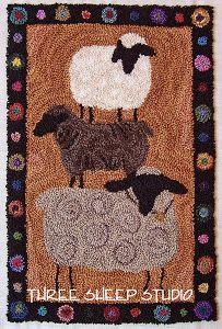 Farm Show Sheep - Three Sheep Studio