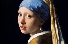 ヨハネス・フェルメール「真珠の耳飾りの少女」(部分)1665年頃 マウリッツハイス美術館蔵