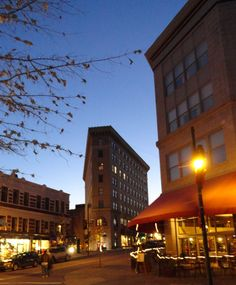 The Haywood and Wall St./Battery Park area of Downtown Asheville, NC. Another of my favs love it here Cities In North Carolina, Asheville North Carolina, Asheville Nc, Vacation Places, Vacations, Mountain City, Battery Park, Biltmore Estate, Land Of The Free