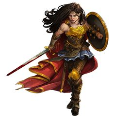 """foxy-nerdy: """"Wonder Woman by Saeed Jalabi """" Shoulder straps! Female Character Concept, Fantasy Character Design, Character Inspiration, Character Art, Wonder Woman Art, Wonder Women, Paladin, Fantasy Characters, Female Characters"""