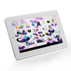 ALLFINE FINE7 Air Dual Core RK3066 MID Tablet PC 7 Inch Android 4.1 IPS Screen 1G 8G HDMI Color White