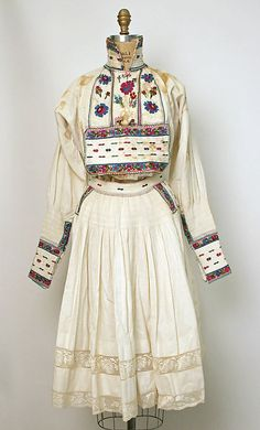 Costume, 20th century, Croatian.