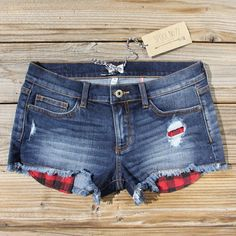 Camper Plaid Shorts, Sweet Affordable Clothing from Spool 72. | Spool No.72