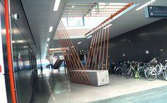 fabrice le nezet's elasticity materializes tension in space - designboom | architecture & design magazine