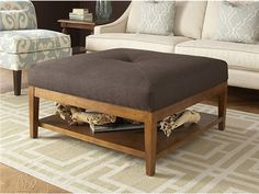 Shop for Braxton Culler Taylor Ottoman with Button, 5019-009, and other Living Room Ottomans at Oskar Huber Furniture in Southampton, PA and Ship Bottom, NJ.