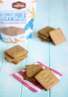 Healthy Homemade Graham Crackers (I add a dash of salt)