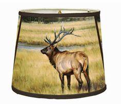 Elk Lampshade