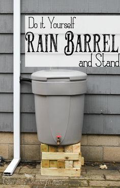 Don't pay to water your plants! There is an affordable and easy to DIY solution that may be just right for you: a Rain Barrel. Check out just how simple it is to assemble one and how great the benefits are.