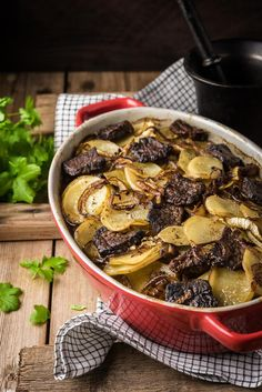 Merimiespihvit   Maku No Salt Recipes, Pork Recipes, Recipies, Yummy Food, Tasty, Pot Roast, Bon Appetit, Love Food, Food To Make
