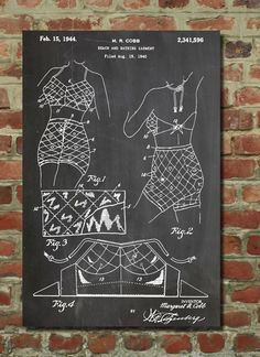 1940 Bathing Suit Poster 1940 Bathing Suit Patent 1940 Bathing Suit Print 1940 Bathing Suit Art 1940 Bathing Suit Decor