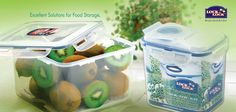 Now keep your #food fresh & odour free with #Lock & Lock airtight #classic containers. It locks food from within and keeps it protected from outside frost.