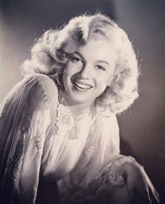 """1948 (in a publicity shot for """"Ladies of the Chorus"""")... [ Laszlo Willinger] ✨ """"One night some short weeks ago, for the first time in her not always happy life, Marilyn Monroe's soul sat down alone to a quiet supper from which she did not rise. If they tell you that she died of sleeping pills you must know that she died of a wasting grief, of a slow bleeding of the soul."""" - Clifford Odets ✨ #marilynmonroe #mymarilyn #marvellousmarilyn #marilyn #monroe #marilynmonroefan…"""