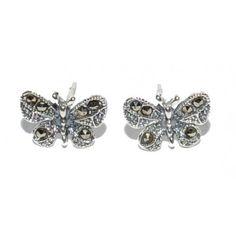 Cercei din argint cu marcasite Stud Earrings, Stone, Silver, Jewelry, Rock, Jewlery, Jewerly, Stud Earring, Schmuck